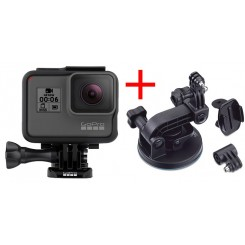 Gopro HERO6 Black + Suction Cup